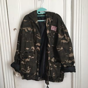 Oversized Army fashion utility jacket 💕